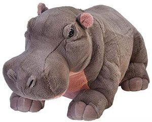 Peluche de hipopótamo de Wild Republic de 76 cm - Los mejores peluches de hipopótamos - Peluches de animales
