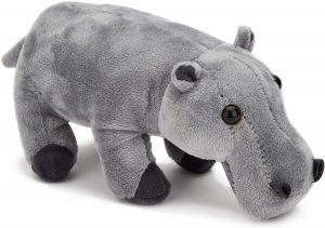Peluche de hipopótamo de Zappi Co de 20 cm - Los mejores muñecos de hipopótamos