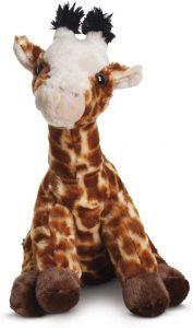 Peluche de jirafa de Aurora de 24 cm - Los mejores peluches de jirafas - Peluches de animales