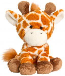 Peluche de jirafa de Keel de 14 cm - Los mejores peluches de jirafas - Peluches de animales