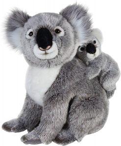 Peluche de koala de National Geographic con cría - Los mejores peluches de koalas - Peluches de animales