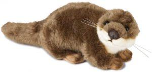 Peluche de nutria de Living Nature de 10 cm - Los mejores peluches de nutrias - Peluches de animales