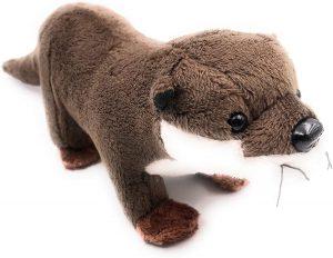 Peluche de nutria de Onwomania de 29 cm - Los mejores peluches de nutrias - Peluches de animales