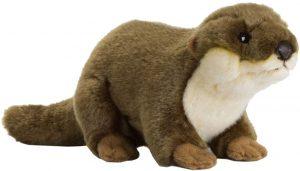 Peluche de nutria de WWF de 20 cm - Los mejores peluches de nutrias - Peluches de animales