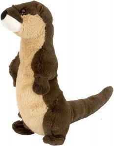 Peluche de nutria de Wild Republic 3 de 20 cm - Los mejores peluches de nutrias - Peluches de animales