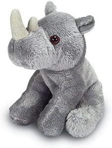 Peluche de rinoceronte de Ark Toys de 14 cm - Los mejores peluches de rinocerontes - Peluches de animales