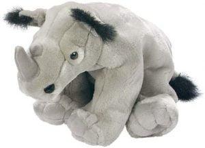 Peluche de rinoceronte de Cuddlekins de 30 cm - Los mejores peluches de rinocerontes - Peluches de animales