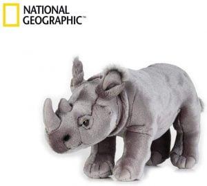 Peluche de rinoceronte de National Geographic de 34 cm - Los mejores peluches de rinocerontes - Peluches de animales