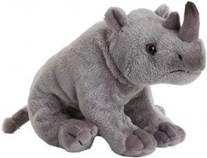 Peluche de rinoceronte de WWF de 28 cm - Los mejores peluches de rinocerontes - Peluches de animales