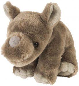 Peluche de rinoceronte de Wild Republic de 20 cm - Los mejores peluches de rinocerontes - Peluches de animales