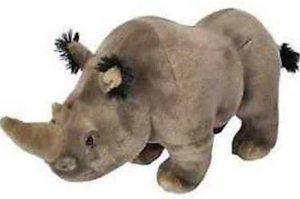 Peluche de rinoceronte de Wild Republic de 30 cm - Los mejores peluches de rinocerontes - Peluches de animales