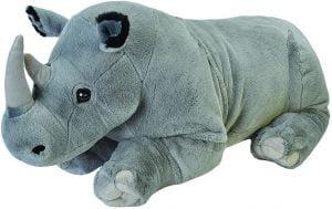 Peluche de rinoceronte de Wild Republic de 76 cm - Los mejores peluches de rinocerontes - Peluches de animales