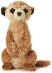 Peluche de suricato de Aurora de 21 cm - Los mejores peluches de suricatos - Peluches de animales