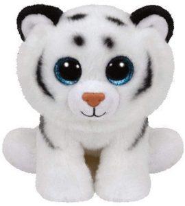 Peluche de tigre blanco de Ty de 15 cm - Los mejores peluches de tigres - Peluches de animales