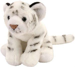 Peluche de tigre blanco de Wild Republic de 20 cm - Los mejores peluches de tigres - Peluches de animales