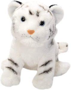 Peluche de tigre blanco de Wild Republic de 30 cm - Los mejores peluches de tigres - Peluches de animales