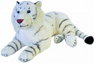 Peluche de tigre blanco de Wild Republic de 76 cm - Los mejores peluches de tigres - Peluches de animales
