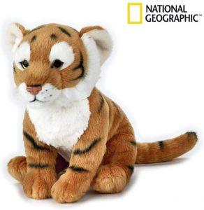 Peluche de tigre de National Geographic de 25 cm - Los mejores peluches de tigres - Peluches de animales