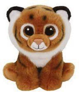 Peluche de tigre de Ty de 15 cm - Los mejores peluches de tigres - Peluches de animales