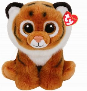 Peluche de tigre de Ty de 23 cm - Los mejores peluches de tigres - Peluches de animales
