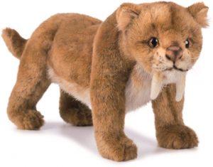 Peluche de tigre dientes de salbe de 30 cm - Los mejores peluches de tigres - Peluches de animales