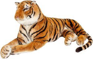 Peluche de tigre gigante de Brubaker de 220 cm - Los mejores peluches de tigres - Peluches de animales
