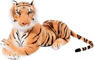 Peluche de tigre gigante de Brubaker de 75 cm - Los mejores peluches de tigres - Peluches de animales