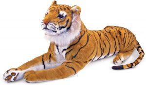 Peluche de tigre gigante de Melissa & Doug de 120 cm - Los mejores peluches de tigres - Peluches de animales