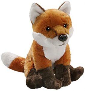 Peluche de zorro de Carl Dick de 19 cm - Los mejores peluches de zorros - Peluches de animales