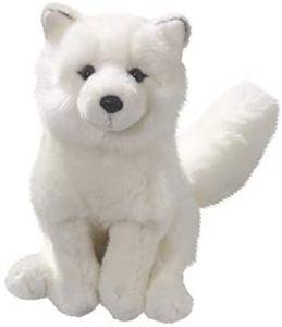 Peluche de zorro polar de Carl Dick de 26 cm - Los mejores peluches de zorros polares - Peluches de animales