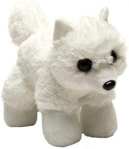 Peluche de zorro polar de Wild Republic de 15 cm - Los mejores peluches de zorros polares - Peluches de animales