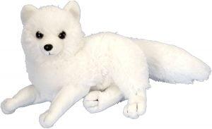 Peluche de zorro polar de Wild Republic de 20 cm - Los mejores peluches de zorros polares - Peluches de animales