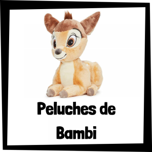 Peluches baratos de Bambi - Los mejores peluches de Bambi de Disney - Peluche de Bambi de felpa