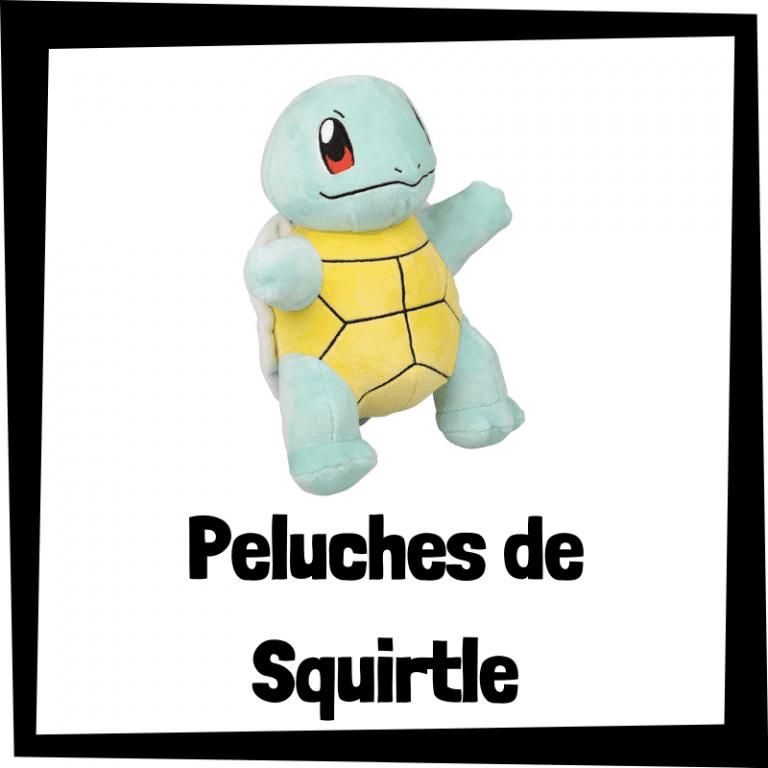 Los mejores peluches de Squirtle