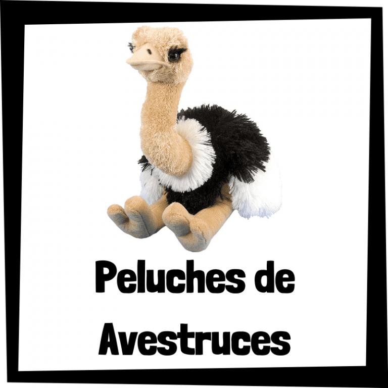Los mejores peluches de avestruces