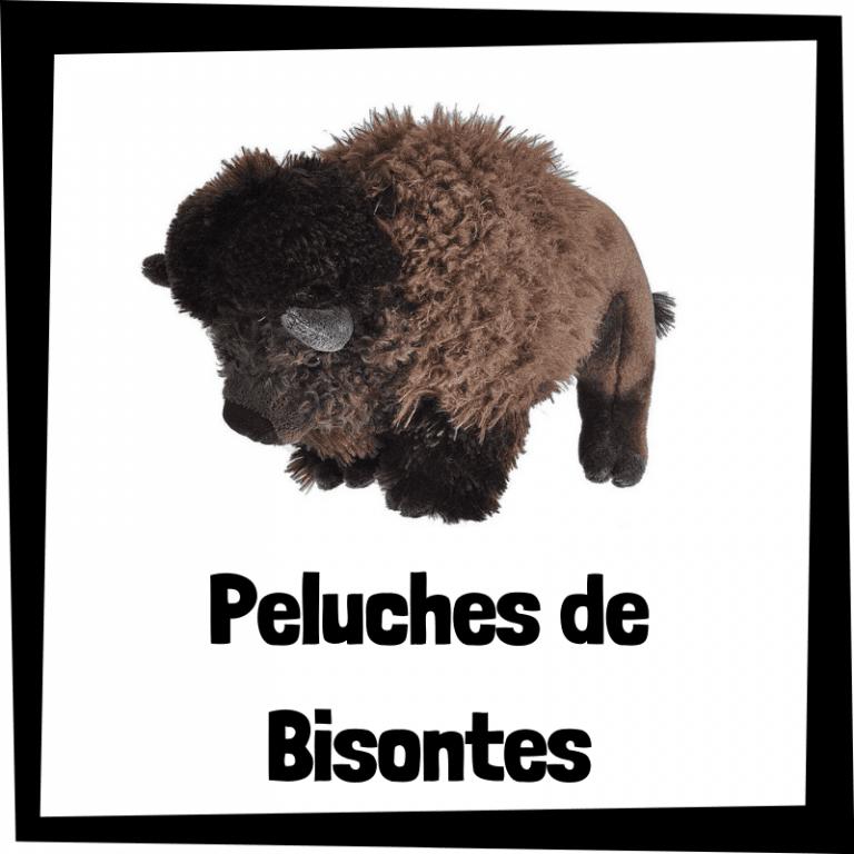 Los mejores peluches de bisontes