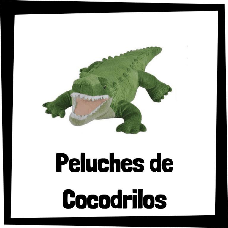 Los mejores peluches de cocodrilos