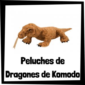 Los mejores peluches de dragones de Komodo