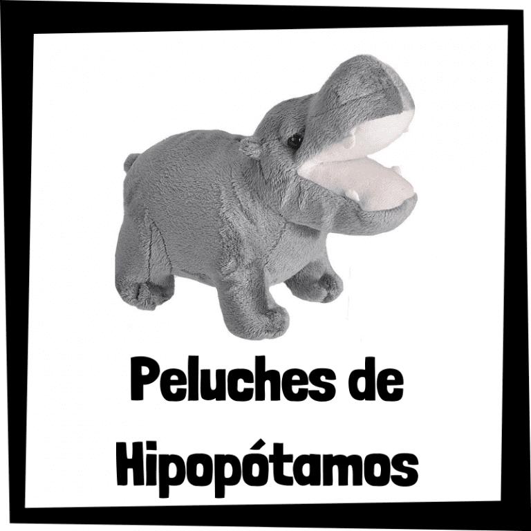 Los mejores peluches de hipopótamos