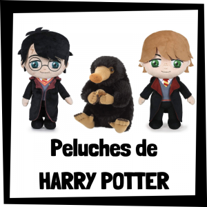Peluches baratos de la saga de Harry Potter y Animales Fantásticos - Los mejores peluches de Harry Potter - Peluche de Harry Potter barato de felpa