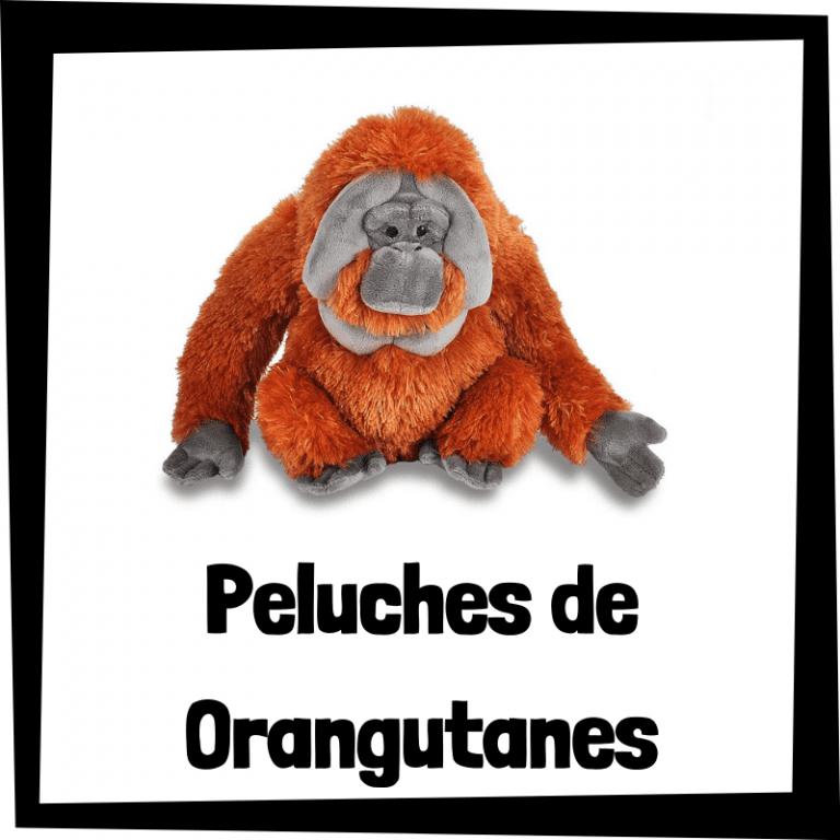 Los mejores peluches de orangutanes