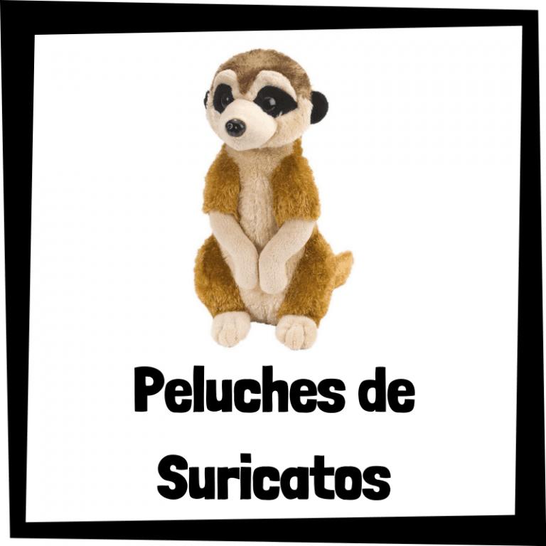 Los mejores peluches de suricatos