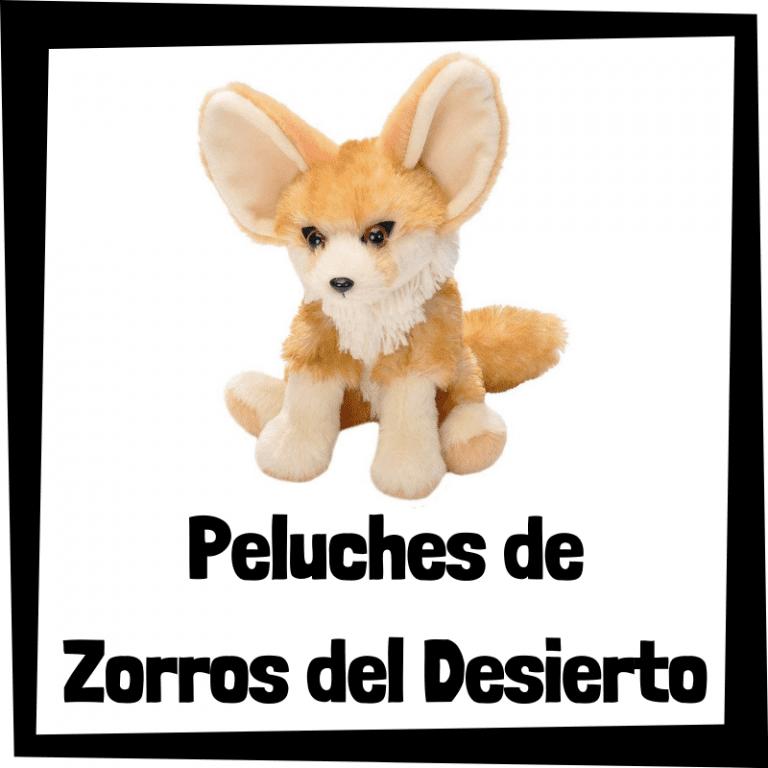 Los mejores peluches de zorros del desierto – Fénec