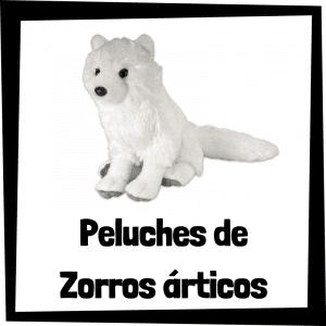 Los mejores peluches de zorros árticos