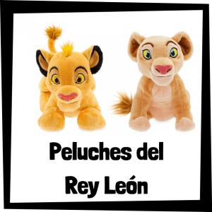 Peluches baratos del Rey León - Los mejores peluches de el Rey León de Disney - Peluche del Rey León de felpa