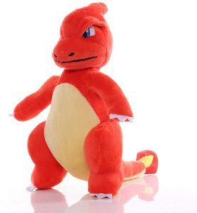 Peluche de Charmeleon de Pokemon de 25 cm - Los mejores peluches de Charmander - Peluches de Pokemon