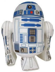 Peluche de R2-D2 de Star Wars de 25 cm 2 - Los mejores peluches de R2D2 - Peluches de Star Wars
