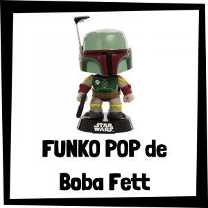 Figuras FUNKO POP baratas de Boba Fett - Los mejores peluches de Star Wars - Peluche de Boba Fett