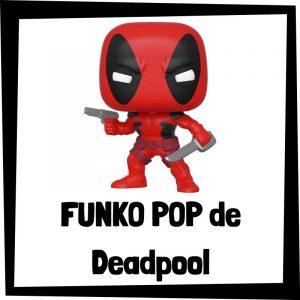 Figuras FUNKO POP baratas de Deadpool - Los mejores peluches de Deadpool - Peluche de Deadpool de Marvel barato de felpa