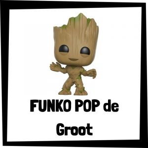 Figuras FUNKO POP baratas de Groot - Los mejores peluches de Groot - Peluche de Groot de los Guardianes de la Galaxia de Marvel barato de felpa